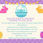 Easter Egg & Bonnet Competition