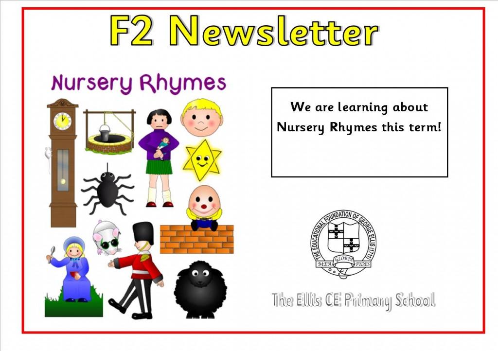 F2 Class newsletter Autumn 1 2018